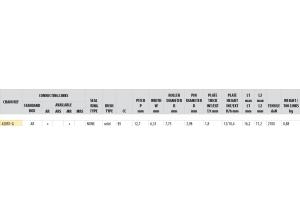 Kit trasmissione Acciaio HONDA CRF 110 2013-2018 Rinforzata