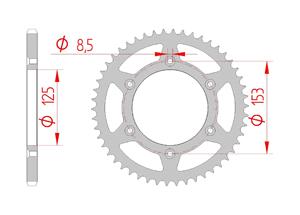 Kit trasmissione Acciaio HONDA CRF 250 R 2018 Rinforzato di più Xs-ring