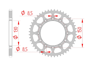 Kit trasmissione Acciaio YAMAHA YZF 450 2020 Super Rinforzata Xs-ring