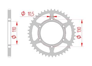 Kit trasmissione Acciaio KAWASAKI VERSYS-X 300 2017 Standard Xs-ring