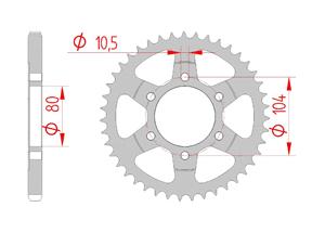 Kit trasmissione Acciaio KAW Z 900 RS 2018 Iper Rinforzata Xs-ring