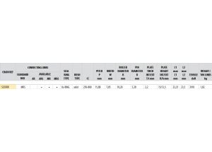 Kit trasmissione Acciaio OEM TRIUMPH 765 STREET TRIPLE 17-18 Rinforzata Xs-ring