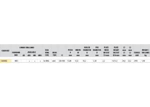 Kit trasmissione Acciaio TRIUMPH 900 TRIDENT 1991-1998 USA