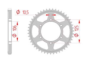 Kit trasmissione Acciaio TRIUMPH 1200 T120 BONNEVILLE 16-18 Iper Rinforzata Xs-ring