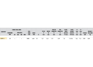 Kit trasmissione Acciaio SKYTEAM 125 SKYMAX PRO 2014-2016