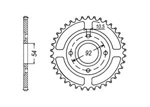 Kit trasmissione MBK X-Power 50 98-99
