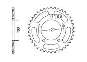 Kit trasmissione APRILIA RS125 Extrema/Replica 06-08