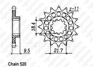 Pignone 250 Cr 86-87