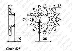 Pignone Rc30 Vfr 750 R 89-92