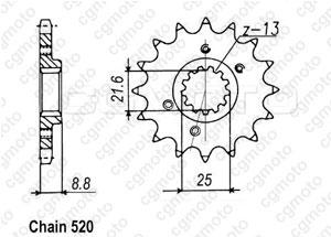 Pignone Xr 600 R 91-01