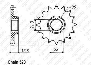 Pignone Xj 600 Diversion 92-02