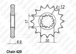 Pignone Minarelli 50 99-07 420