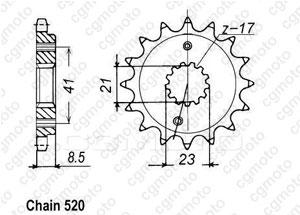 Pignone Xr 400 R 96-01