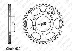 Corona Gsx 750 E 80-82