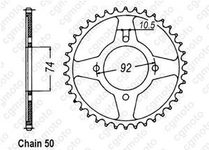 Corona Rd 350 Lc 80-82