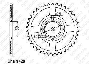 Corona Cg 125 77-84