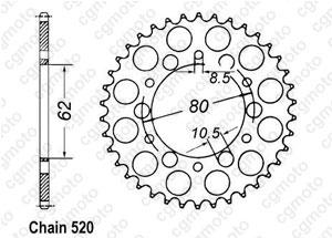 Corona Sr 250 Se 80-83