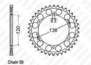 Corona Rd 500 Lc 84-85