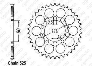 Corona Cb 450 S/Dx 86-89