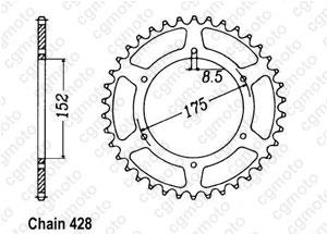 Corona Tdr 125 Italie 89-92