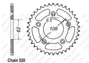 Corona Rs 125 Extrema 93-98