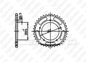 Corona Sachs 125 Zz 98-00