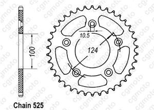 Corona Ducati 999 R/S 03-