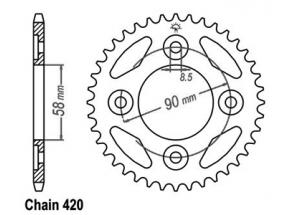 Corona Anf 125 Innova 03-