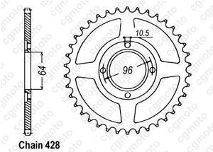 Corona Cg 125 E 04-