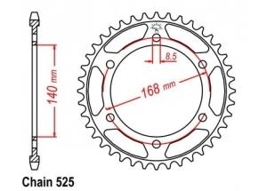 Corona Bmw F 800 Gs 08-