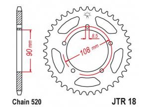 Kit trasmissione Aprilia 350 Etx Tuareg
