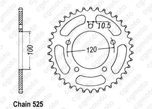 Kit trasmissione Aprilia Sl 750 Shiver