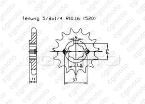 Kit trasmissione Aeon 190 Overland