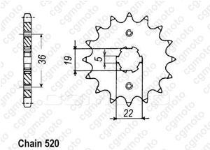 Kit trasmissione Axr 300 Sp / Adly 300