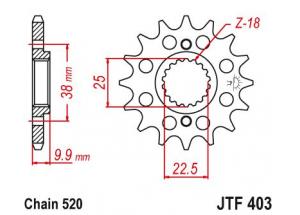 Kit trasmissione Bmw G 450 X