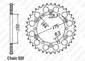Kit trasmissione Barossa/Triton/Smc 250