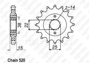 Kit trasmissione Ducati 907 Paso I.E.